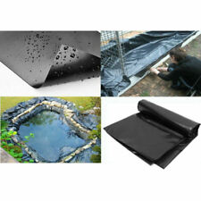 10-32ft Sizes Fish Pond Liner Gardens Pools PVC Membrane Reinforced Landscaping