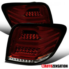 For 2006-2011 Mercedes Benz ML-Class W164 Red/Smoke Full LED DRL Bar Tail Lights