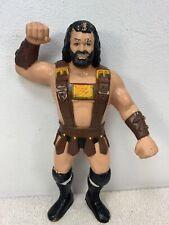 1987 WWF LJN Hercules Hernandez  Wrestling Superstars Figure Grand Toys Read