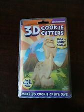 """New Just For Laughs 3D Cookie Cutter 5"""" x 3"""" Brontosaurus Dinosaur"""