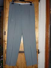 Pantalon de ville homme gris vert taille 42 en très bon état