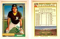 Tony LaRussa Signed 1992 Topps Gold #429 Card Oakland Athletics Auto Autograph