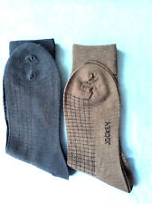 4 Jockey Fine Merino Wool SMOOTH TOE!l Mens dress socks Size 7-11
