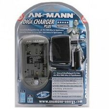 ANSMANN DIGICHARGER Plus Caricabatterie universale Digicam fotocamere digitali Camcorder