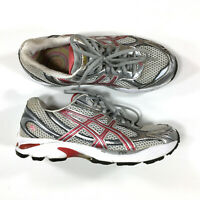 Asics GT-2150 Running Shoes Womens Size 9.5 Silver Gray T054N