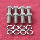 TRIUMPH STAG - supporti motore ( per ) bulloni testa esagonale in acciaio inox