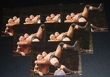 Randy Orton WWE 2007 Topps Action Trading Card #12 Pro Wrestling Wrestlemania 25