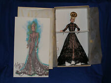 1998 SHEER ILLUSION BARBIE DOLL NOLAN MILLER COUTURE COLLECTION