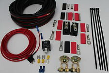 REDARC WIRING KIT TO SUIT BCDC1225LV DC TO DC CHARGER WITH SOLAR RELAY