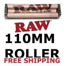 Raw Hemp Plastic King Size 110mm Cigarette Roller Rolling Machine w/instructions