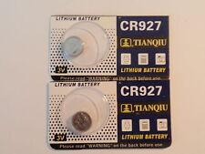 Fast Ship--2- New-Lithium Battery-3V-CR927 /CR-927-DL927 -ECR927- BR927 - AAA