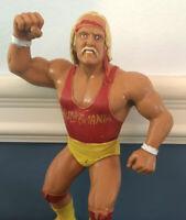 Rare WWF LJN Wrestling Superstars Red Shirt Hulk Hogan 1988 Figure WWE WCW NWO
