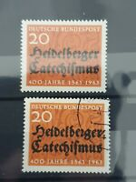 German 1963 400th Anniv of Heidelberg Catechism.1 stamp set MNH & Used 1310