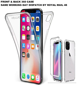 360 FRONT & BACK CLEAR Case For iPhone 13 Pro Mini 11 Max XR 12 Cover Shockproof