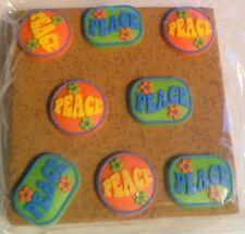 Corkies Push Pins Stocking Party Bag Stuffers Gifts PEACE  B59