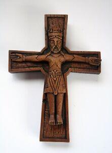 Viking Crucifix Cross Reproduction Carving Pagan Christian Norse Ragnar Gift