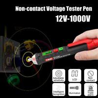 12-1000V Voltage Tester Pen Electric Volt Alert Detector Non-Contact AC