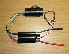 BRUSHLESS WATERCOOLED MOTOR AND ESC  4000KV 2858motor and 50A watercooled ESC