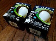 Lot of 2 GE 12-watt (75w) PAR30L LED 2700K Indoor Flood Light Bulb Soft White