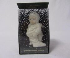 DEPT 56 SNOWBABIES SMALL SNOWBABY HOLDING STOCKING  MIB