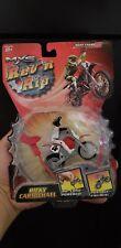 ROAD CHAMPS MXS Ricky Carmichael Rev N Rip Series 2004 Racing motocross bike toy