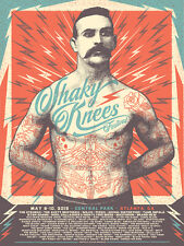 Shaky Knees Fest Poster 5/8-10/2015 Central Park Atlanta Ga Signed Artist Ed.