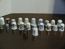 Thimbles - 22 - Porcelain and Bone China - Souvenirs, Collections, and Decorati
