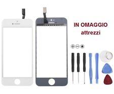 VETRO Originale VETRINO touch screen x iPhone 5C BIANCO touchscreen + attrezzi