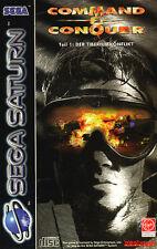 ## Command & Conquer (mit OVP) - SEGA SATURN Spiel - TOP ##