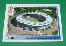 N°10 INCHEON STADE WORLD CUP PANINI FOOTBALL JAPAN KOREA 2002 COUPE MONDE FIFA