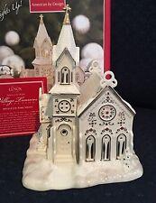 Lenox Mistletoe Park Series Village Treasures VILLAGE CHURCH 2007 Lights NIB