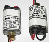 2 X Canon DN22 Electric Motor w Gear - Hobby Train Toy Model Japan Geared Motor