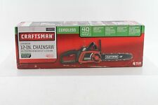 *CRAFTSMAN 12-INCH LITHIUM-ION CHAINSAW 40 VOLT 7198023 BRAND NEW FREE SHIPPING*
