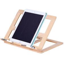 Foldable Wooden Book Stand Tablet PC Reading Desk Holder Adjustable Book Support