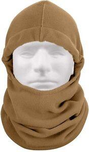Polar Fleece Adjustable Balaclava Cold Weather Comfy Head & Neck Warmer