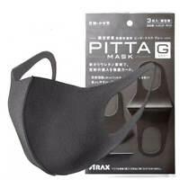 Pitta Japanese Anti-Pollution Face Mask Dark Gray (3 Packs) USA Seller