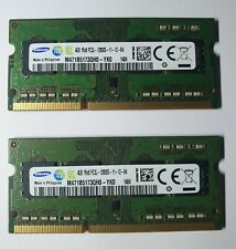 More details for 8gb 2x4gb ddr3l 1600mhz laptop ram pc3l 12800s 1rx8 memory 204pin sodimm