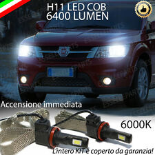 KIT FULL LED FIAT FREEMONT LAMPADE ANABBAGLIANTI LED H11 6000K NO ERROR 6400 LM