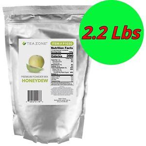 Tea Zone Premium Fruit Powder Mix Bubble Milk Tea Smoothie Slush Boba 2.2lbs
