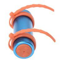 Lettore musicale MP3 subacqueo impermeabile 4GB Nuoto Blu + Radio FM U4G6