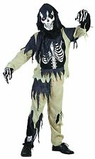 Skeleton Zombie Large, Childrens Fancy Dress Costume #US