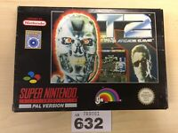 Super Nintendo Snes T2 The Arcade Game Pal Version
