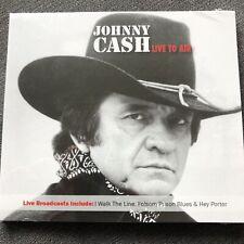 Johnny Cash : Live to Air CD Album Digipak - NEW + SEALED