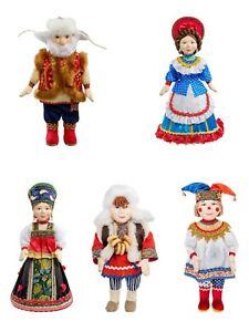 Russian Curvy dolls Handmade Souvenir Collectable Porcelain Author's dolls