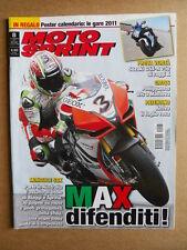 MOTOSPRINT n°8  2011 [Q75] Test Suzuki GSX-R 750