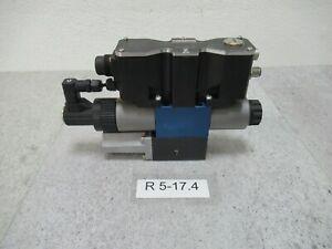 Rexroth 4WREQ6Q5-08-24/V4C-24PA60 Proportional Valve Rexroth R901081738 Unsed