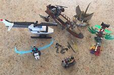 LEGO  5 MEDIUM AND SMALL SETS ~ NINJAGO...STAR WARS...POLICE..ADVENTURERS + L@@K