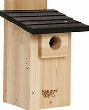 New listing Nature's Way Bird Products Cwh4 Cedar Bluebird Viewing House