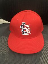 New listing Official On Field St Louis Cardinals July 4th New Era 59FIFTY Hat Size 7
