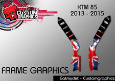 KTM 85 2013-2017 FRAME PROTECTION GRAPHICS STICKERS MOTOCROSS DECALS MX
